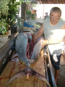 FISH DINNER @ GEORGE HOUSE 035