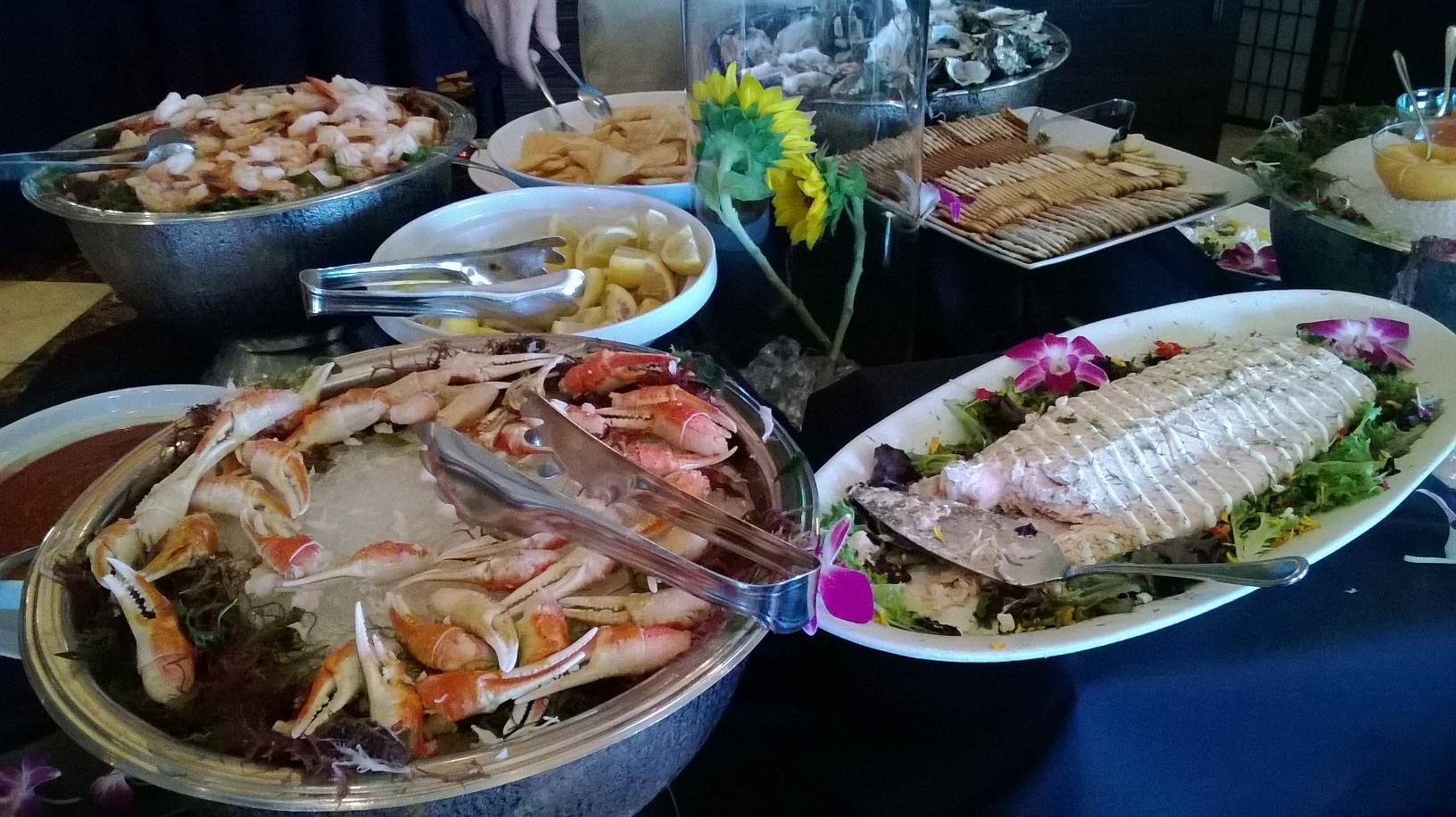 sunday brunch buffet at the trump s yummcha